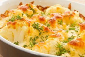 Рецепты блюд при гастрите из цветной капусты