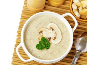 Грибной суп при гастрите
